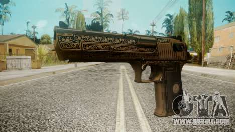 Desert Eagle by EmiKiller for GTA San Andreas