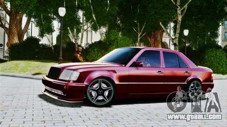Mercedes-Benz E500 W124 for GTA 4