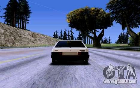 VAZ 2109 Turbo for GTA San Andreas wheels