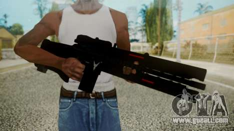 VXA-RG105 Railgun without Stripes for GTA San Andreas third screenshot