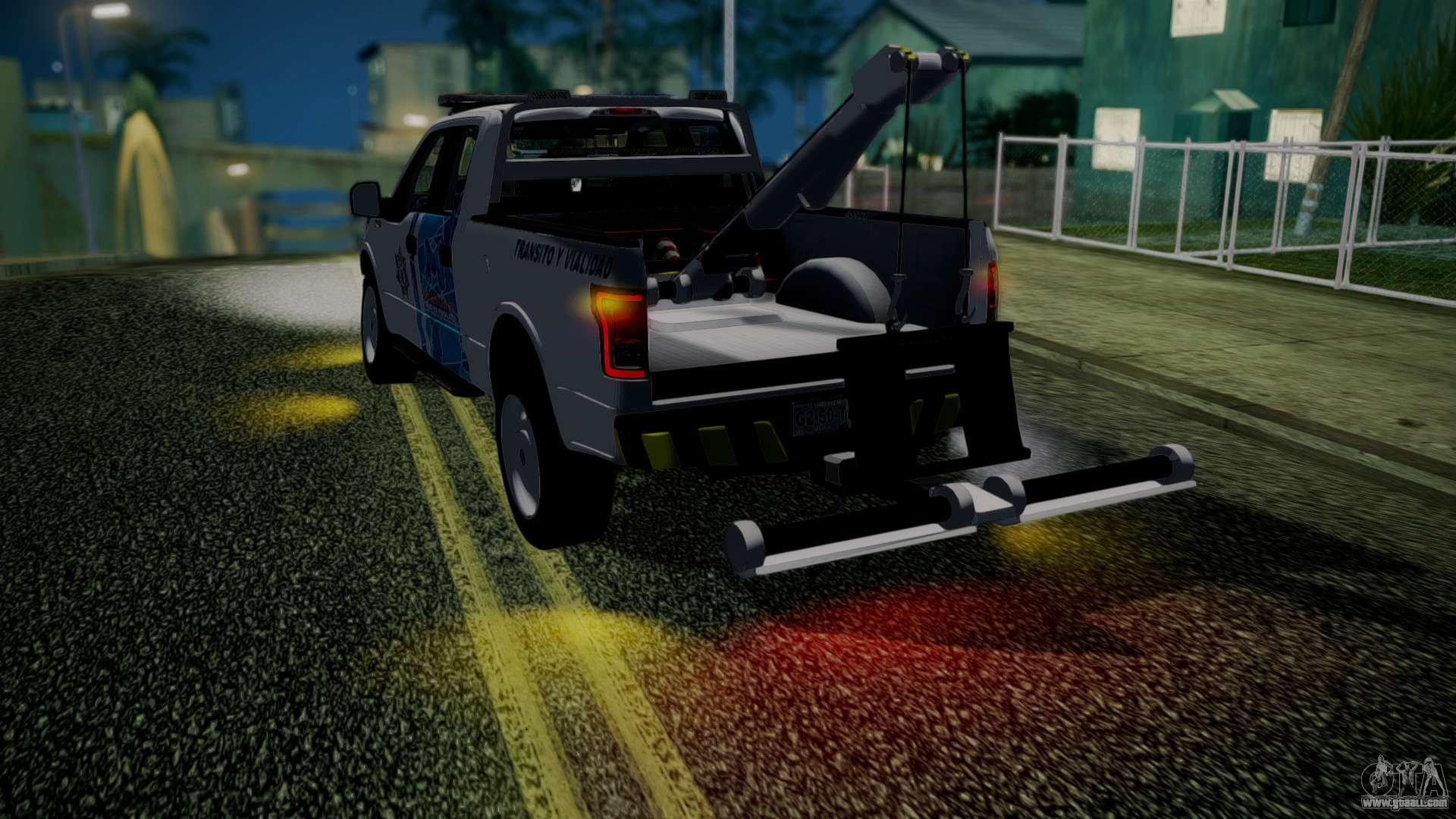 Gta San Andreas Tow Truck Mod