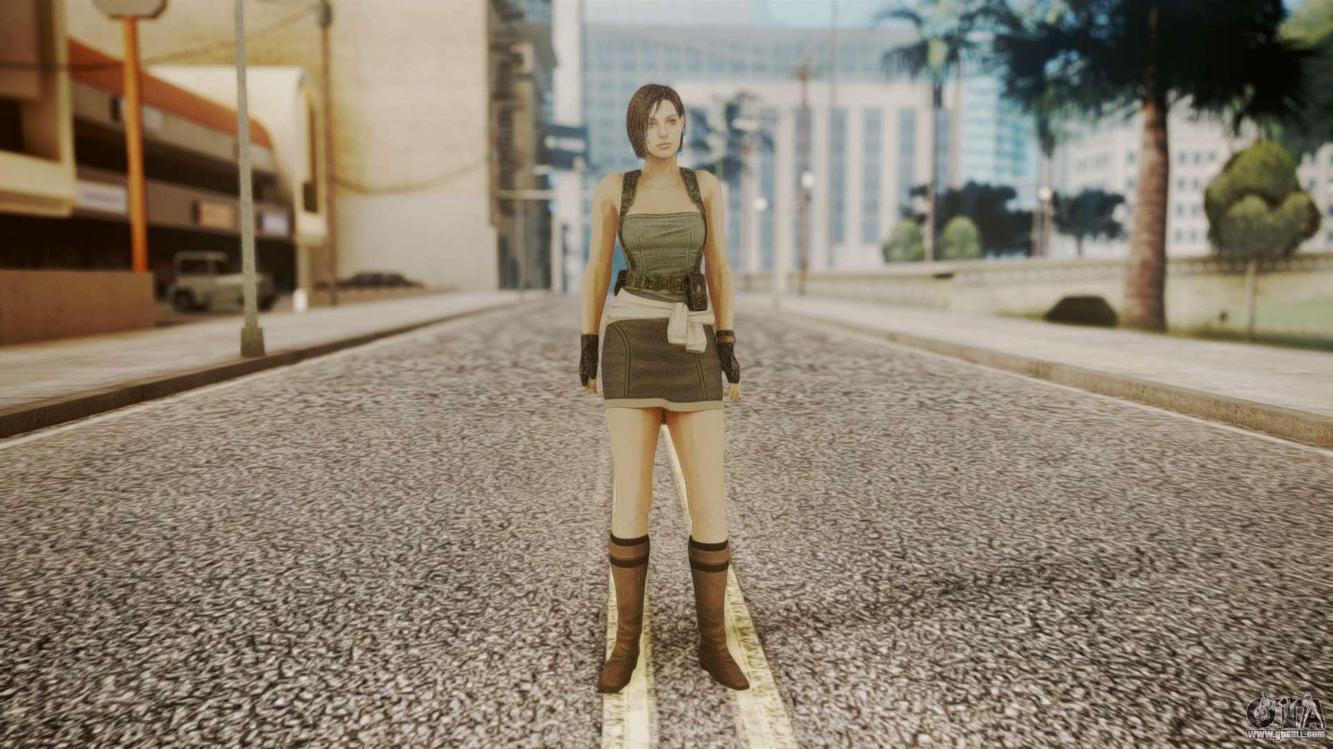 Resident Evil Remake Hd - Jill Valentine For Gta San Andreas-9047