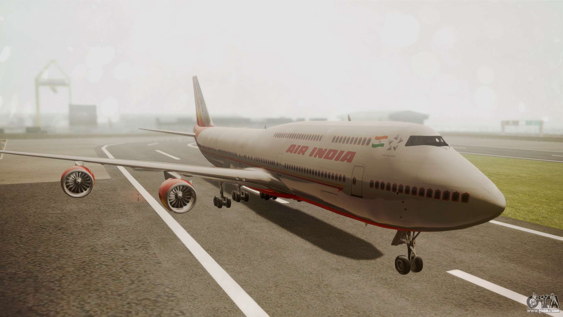 Boeing 747-8I Air India for GTA San Andreas