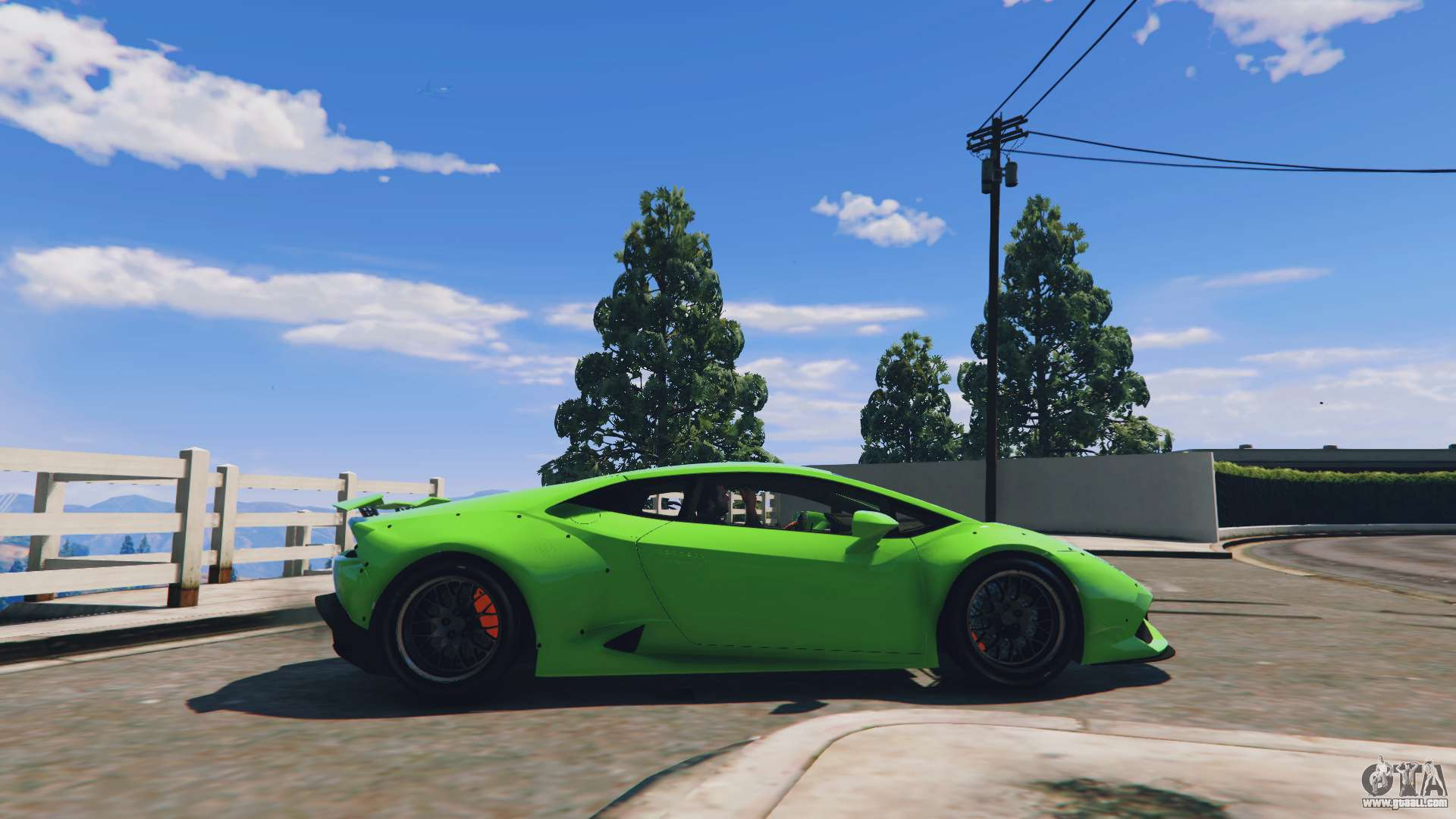libertywalk lamborghini huracan for gta 5. Black Bedroom Furniture Sets. Home Design Ideas