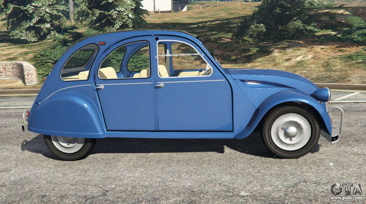 citroen 2cv v1 1 for gta 5. Black Bedroom Furniture Sets. Home Design Ideas