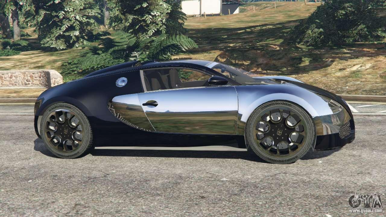 bugatti veyron grand sport v5 0 for gta 5. Black Bedroom Furniture Sets. Home Design Ideas