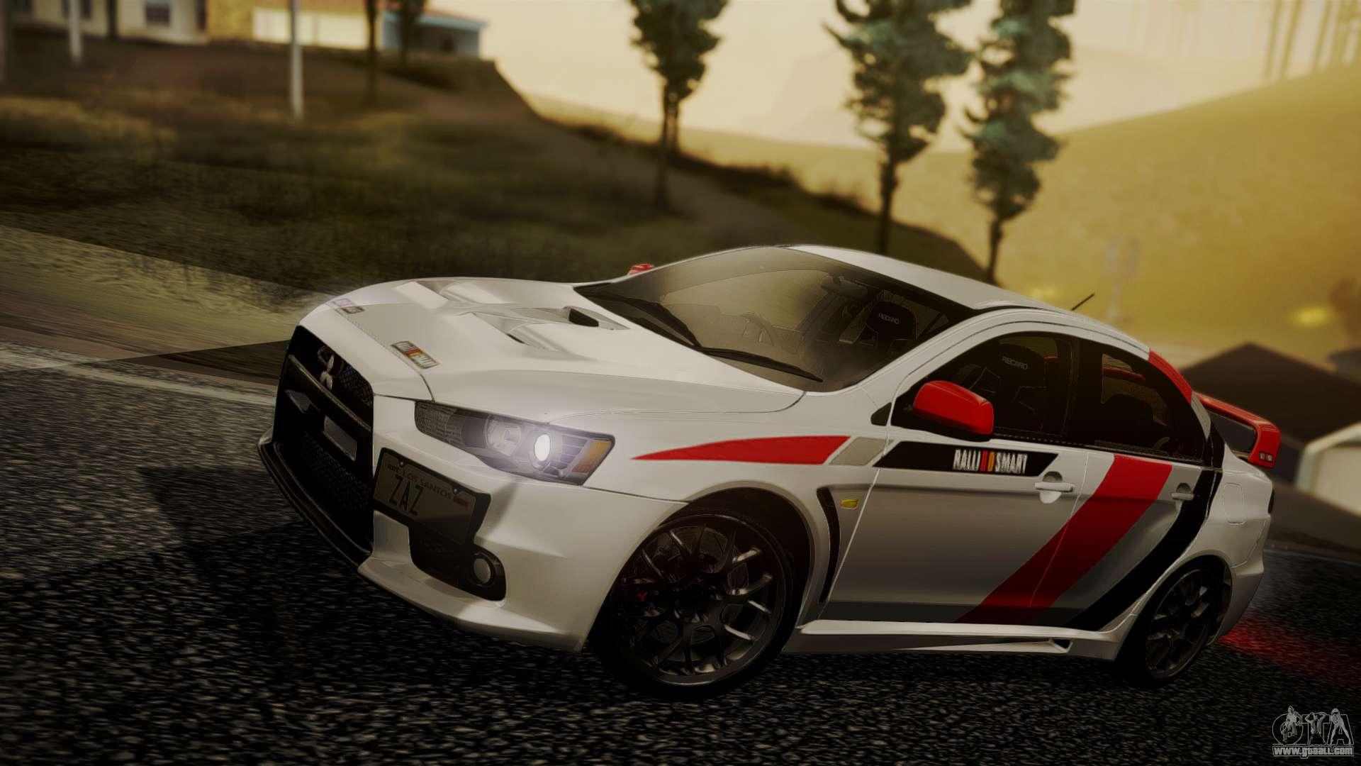 Gta 5 Custom Cars >> Mitsubishi Lancer Evolution X 2015 Final Edition for GTA ...