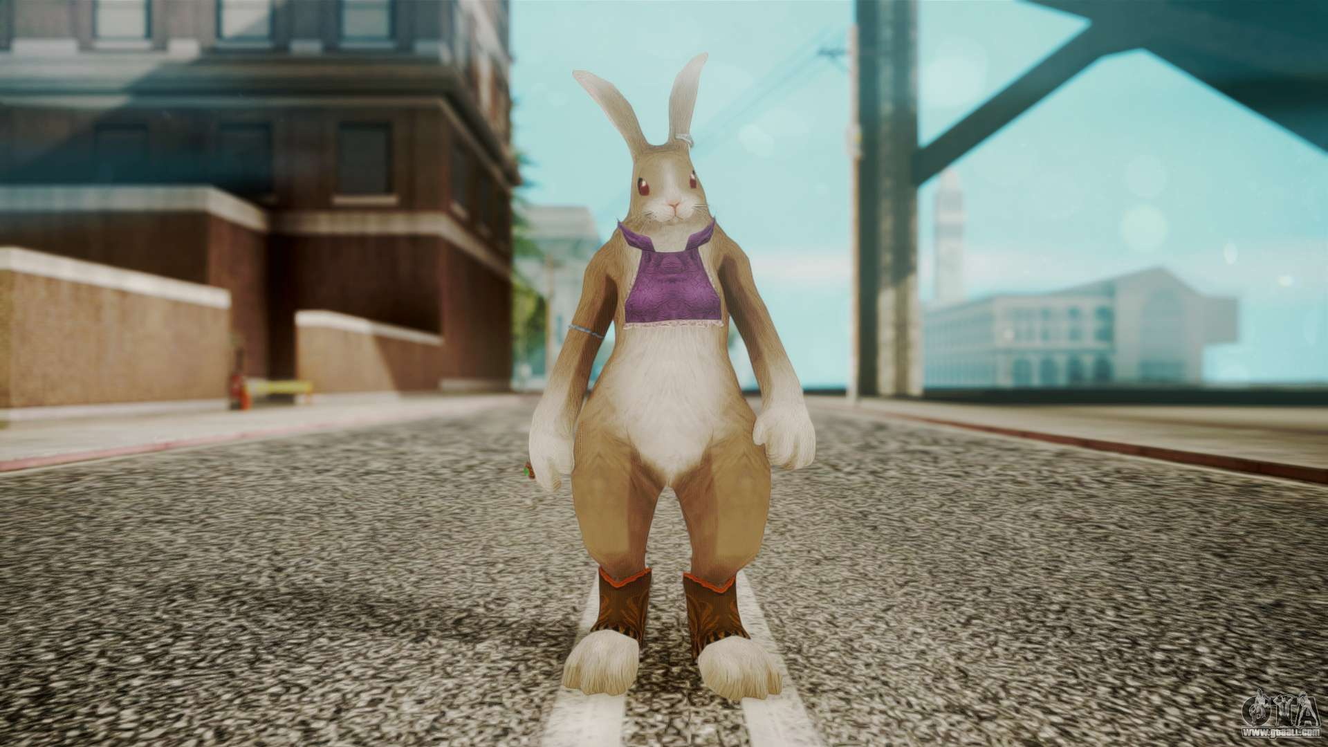 Alice Rabbit Form from Bloody Roar for GTA San Andreas