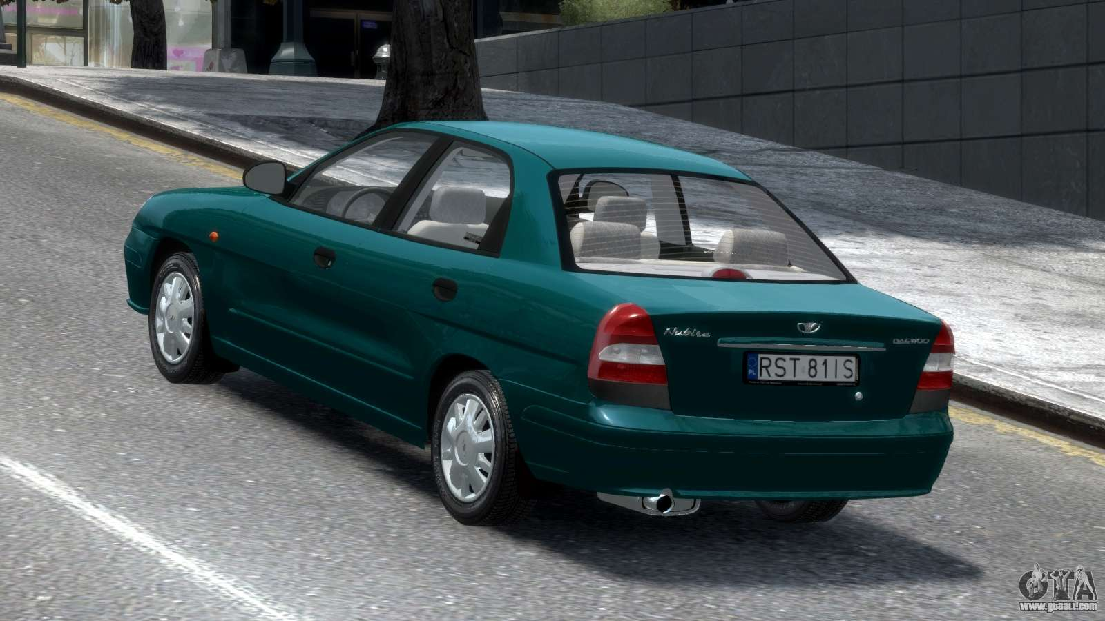 daewoo nubira ii sedan s pl 2000 for gta 4. Black Bedroom Furniture Sets. Home Design Ideas