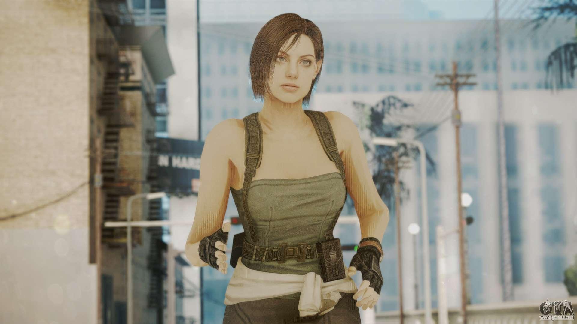 Resident Evil Remake Hd - Jill Valentine For Gta San Andreas-2232