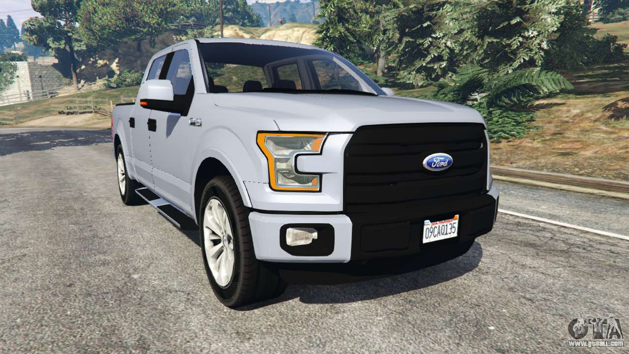 Ford F 150 2015 For Gta 5