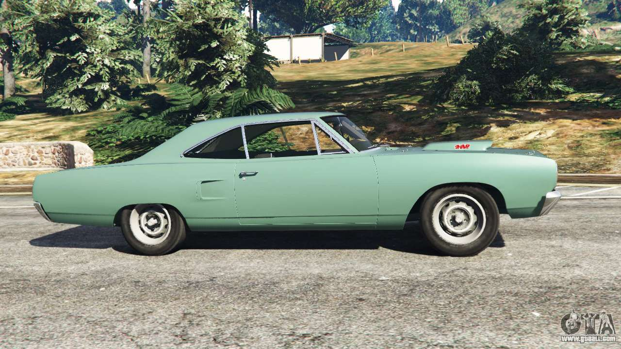 Gta 5 plymouth road runner 1970 fix left side view
