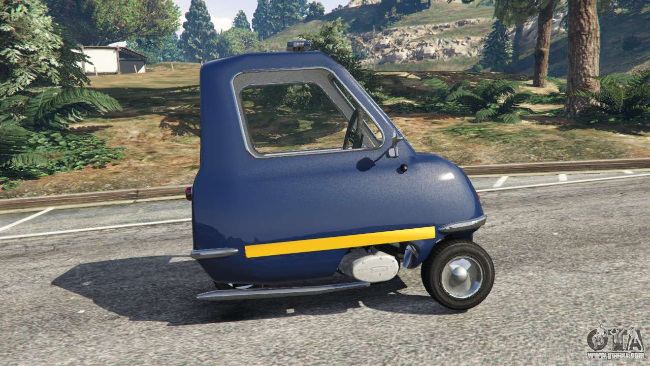 peel p50 police for gta 5. Black Bedroom Furniture Sets. Home Design Ideas