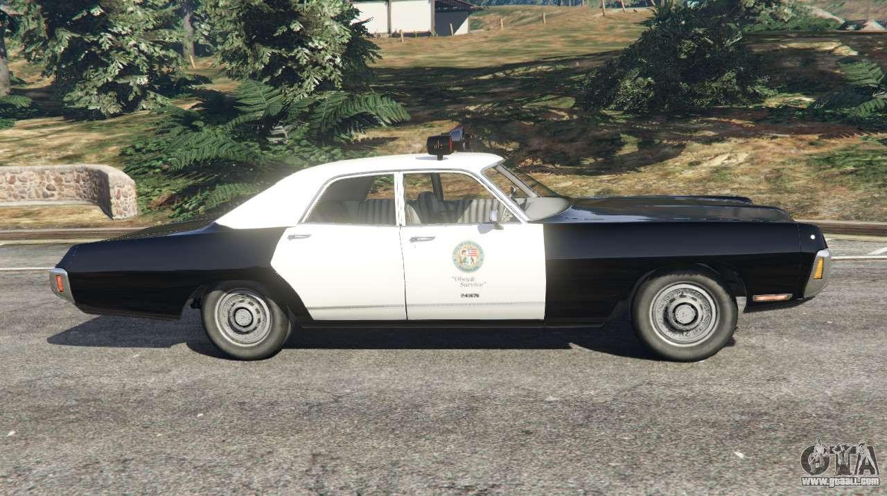 Dodge Polara 1971 Police v4.0 for GTA 5