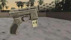 GTA 5 Tec-9 for GTA San Andreas