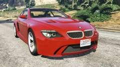 BMW M6 (E63) for GTA 5