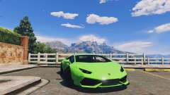 LibertyWalk Lamborghini Huracan for GTA 5