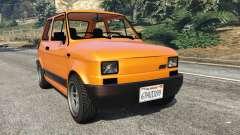 Fiat 126p v1.0 for GTA 5