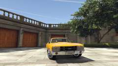 Chevrolet El Camino SS 1970 for GTA 5