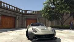 Ferrari F12 Berlinetta [LibertyWalk] v1.1 for GTA 5