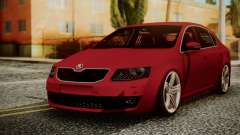 Skoda Octavia sedan for GTA San Andreas