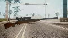 Low Poly Hunting Rifle for GTA San Andreas