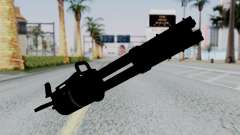 M134 Minigun for GTA San Andreas