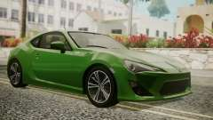 Toyota GT86 2012 for GTA San Andreas
