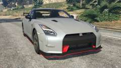 Nissan GT-R Nismo 2015 v1.1 for GTA 5