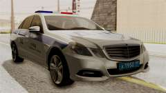 Mercedes-Benz E500 interior Ministry traffic pol