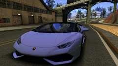 Lamborghini Huracan LP610 VELLANO for GTA San Andreas