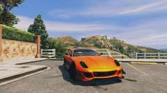 Ferrari 599XX Super Sports Car for GTA 5