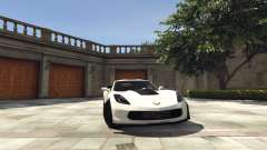 Chevrolet Corvette C7 Z06 for GTA 5