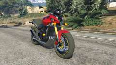 Honda CB 600F Hornet 2010 v0.5 for GTA 5