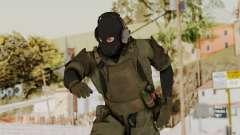 MGSV Ground Zero MSF Soldier