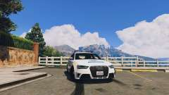 Audi RS4 Avant Hungarian Police for GTA 5