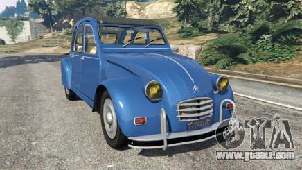 Citroen 2CV v1.1 for GTA 5