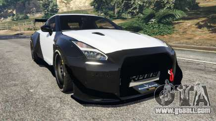 Nissan GT-R (R35) [RocketBunny] v1.2 for GTA 5