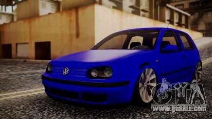 Volkswagen Golf 4 for GTA San Andreas