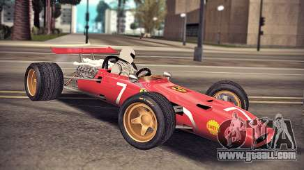 Ferrari 312 F1 for GTA San Andreas