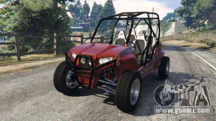Polaris RZR 4 v1.15 for GTA 5
