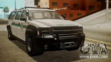 GTA 5 Declasse Granger Park Ranger IVF for GTA San Andreas