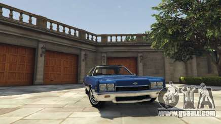 Chevrolet Impala 1972 for GTA 5