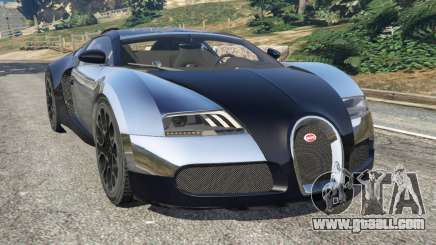 Bugatti Veyron Grand Sport v5.0 for GTA 5