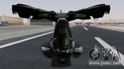 Hornet Halo 3 for GTA San Andreas
