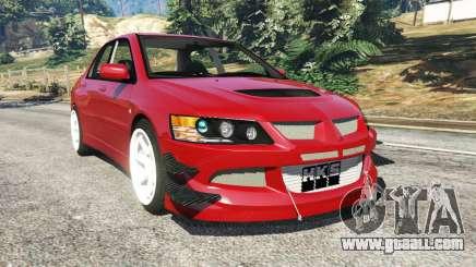Mitsubishi Lancer Evolution IX Dk for GTA 5