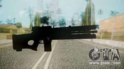 VXA-RG105 Railgun without Stripes for GTA San Andreas