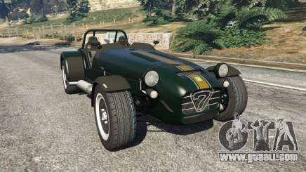 Caterham Super Seven 620R for GTA 5