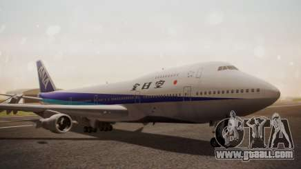 Boeing 747SR All Nippon Airways (NC) for GTA San Andreas