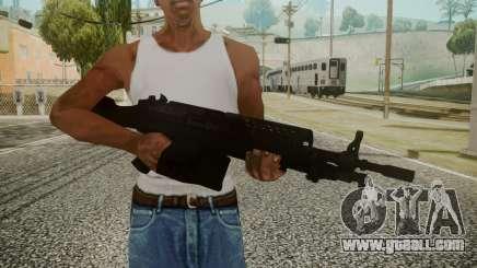 M249 Battlefield 3 for GTA San Andreas